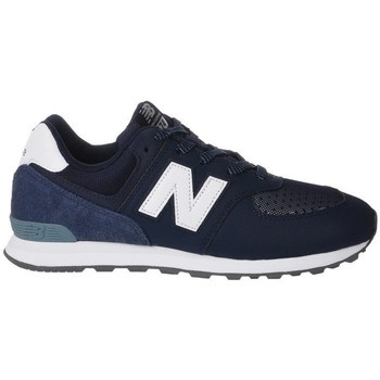 Chaussures Enfant Baskets basses New Balance GC574D4 blanc