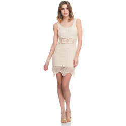 Vêtements Femme Robes Laura Moretti Robe LRCP8N1016 Femme Collection Printemps Eté Beige