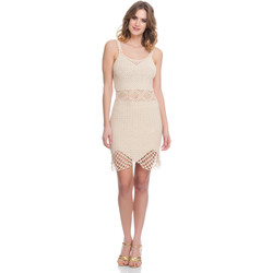 Vêtements Femme Robes Laura Moretti Robe LRCP8N1019 Femme Collection Printemps Eté Beige