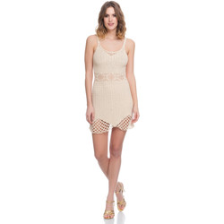 Vêtements Femme Robes Laura Moretti Robe LRCP8N1022 Femme Collection Printemps Eté Beige