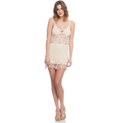 Vêtements Femme Robes Laura Moretti Robe LRCP8N1023 Femme Collection Printemps Eté Beige