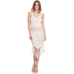Vêtements Femme Robes Laura Moretti Robe LRCP8N1030 Femme Collection Printemps Eté Beige