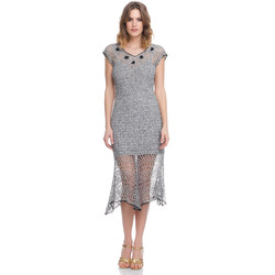 Vêtements Femme Robes Laura Moretti Robe LRCP8N1051 Femme Collection Printemps Eté Gris