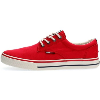 Chaussures Homme Baskets basses Tommy Hilfiger EM0EM00001 TOMMY TEXTILE SNEAKER SNEAKERS Homme RED RED