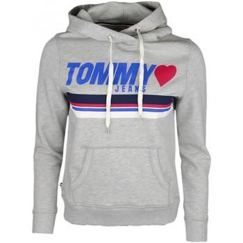 Vêtements Femme Sweats Tommy Jeans Sweat à capuche  gris pour femme Gris