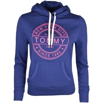 Vêtements Femme Sweats Tommy Jeans Sweat à capuche  bleu marine pour femme Bleu