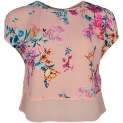Vêtements Femme Tops / Blouses Tommy Jeans Haut  corail à motif fleur pour femme Multicolore