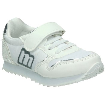 Chaussures Fille Baskets basses MTNG 47601 BLANC