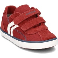 Chaussures Enfant Baskets basses Geox B82A7G Rouge