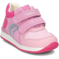 Chaussures Enfant Boots Geox B640LB Rose