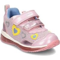 Chaussures Enfant Boots Geox Baby Todo Rose
