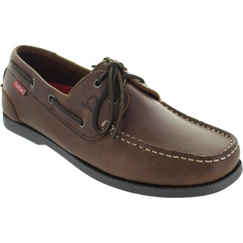 Chaussures Homme Chaussures bateau Chatham Galley 2 marron