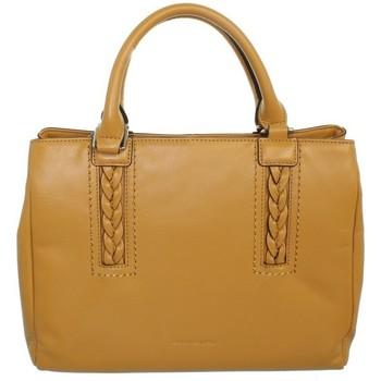 Sacs Sacs porté main Francinel Sac à main  en cuir ref_lhc43011 Jaune 32*22*12 jaune