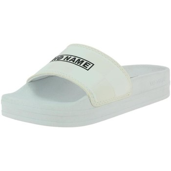 Chaussures Femme Mules No Name jungle slap rubber blanc