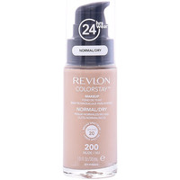 Beauté Femme Fonds de teint & Bases Revlon Colorstay Foundation Normal/dry Skin 200-nude  30 ml