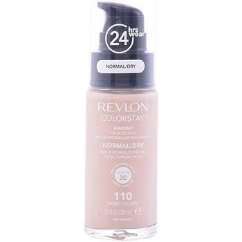 Beauté Femme Fonds de teint & Bases Revlon Colorstay Foundation Normal/dry Skin 110-ivory  30 ml