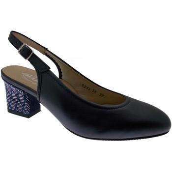 Chaussures Femme Sandales et Nu-pieds Calzaturificio Loren LO5234bl blu