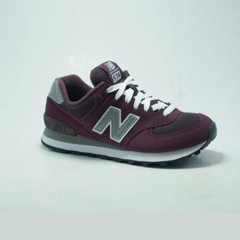 Chaussures Homme Baskets mode New Balance M574   BORDEAUX rouge