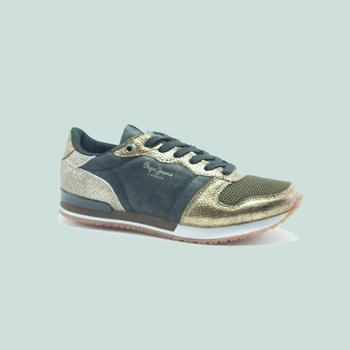 Chaussures Homme Baskets mode Pepe jeans GABLE TOP  OR Doré
