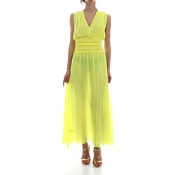 Vêtements Femme Robes longues Pinko EVITARE ROBE Femme GIALLO FLUO GIALLO FLUO