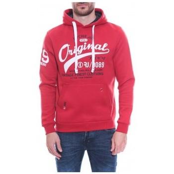 Vêtements Homme Sweats Ritchie Sweat capuche WARLUZ Rouge