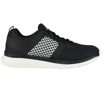 Chaussures Femme Boots Reebok Sport PT Prime Run Blanc-Noir
