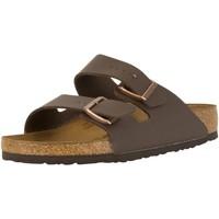 Chaussures Homme Mules Birkenstock Sandales Arizona Birko-Flor marron