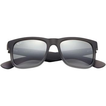 Montres & Bijoux Homme Lunettes de soleil Ray-ban Justin Lunettes de soleil gris