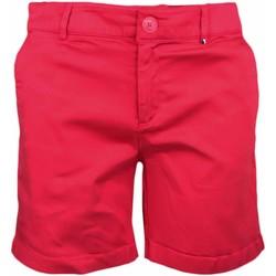 Vêtements Femme Shorts / Bermudas Tommy Jeans Short chino  rouge pour femme Rouge