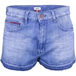 Vêtements Femme Shorts / Bermudas Tommy Jeans Short en jean  bleu pour femme Bleu