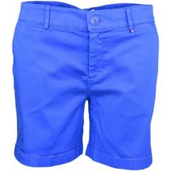 Vêtements Femme Shorts / Bermudas Tommy Jeans Short chino  bleu France pour femme Bleu