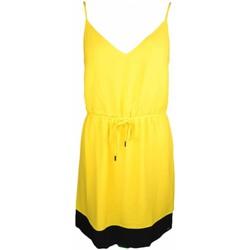 Vêtements Femme Robes courtes Tommy Jeans Robe  jaune pour femme Multicolore