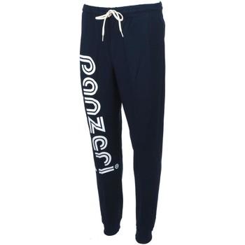Vêtements Homme Pantalons de survêtement Panzeri Uni t navy/blc pant slim Bleu marine / bleu nuit