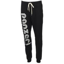 Vêtements Homme Pantalons de survêtement Panzeri Uni t noir/blc pant slim Noir