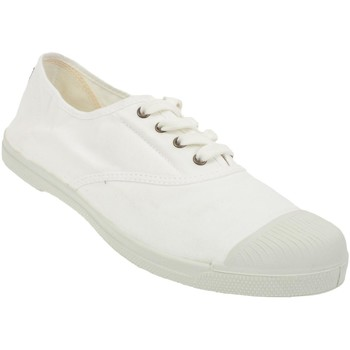 Chaussures Femme Baskets basses Natural World Ingles blanc canvas l Blanc