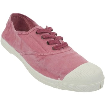 Chaussures Femme Baskets basses Natural World Ingles rose canvas l Rose