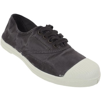Chaussures Femme Baskets basses Natural World Ingles anth canvas l Gris Anthracite foncé