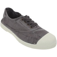 Chaussures Femme Baskets basses Natural World Ingles gris canvas l Gris clair