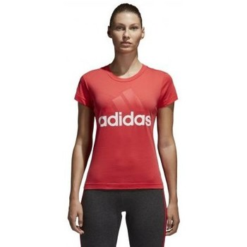 Vêtements Femme T-shirts manches courtes adidas Originals Tee shirt rose femme Essentials Linear fushia