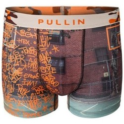 Vêtements Homme Boxers / Caleçons Pull-in Boxer Pullin Master Tag orange