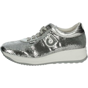 Agile By Ruco Line Agile By Rucoline  226(A32) Petite Sneakers Femme Argent Argent - Chaussures Baskets basses Femme