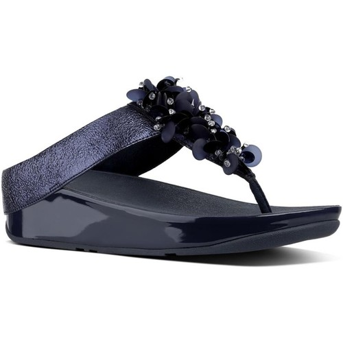 Fitflop Femme fitflop sandales bleues bleu - Chaussures Tongs Femme