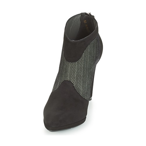 PATRINA Peter Kaiser bottines femme noir / gris
