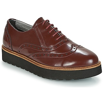 Chaussures Femme Derbies Ippon Vintage ANDY THICK Bordeaux