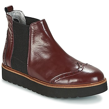 Chaussures Femme Boots Ippon Vintage HUNTER THICK Bordeaux