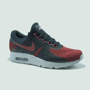 Chaussures Homme Baskets mode Nike AIR MAX ZERO SE  NOIR/ROUGE rouge