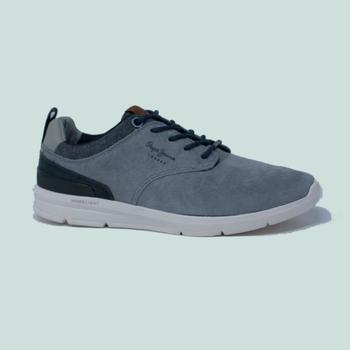 Chaussures Homme Baskets mode Pepe jeans JAYDEN 2.1 ESSENTIALS  GRIS Gris
