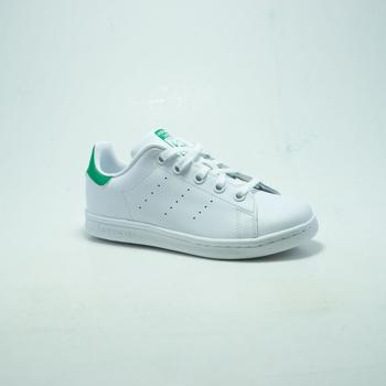 Chaussures Homme Baskets mode adidas Originals STAN SMITH  BLANC/VERT blanc