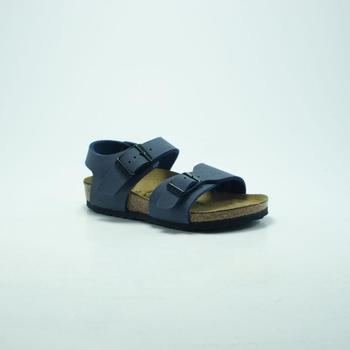 Chaussures Homme Baskets mode Birkenstock Kids BIRK NEW YORK MARINE. bleu