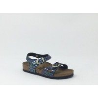 Chaussures Homme Sandales et Nu-pieds Birkenstock Kids BIRK RIO SHINY SNAKE/NOIR Noir